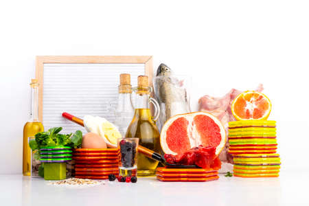 Composition with food contains coenzyme Q10, antioxidant, produce energy to cell, products against free radicals, and supports body as it ages, immune system, keeping body strong and healthy.
