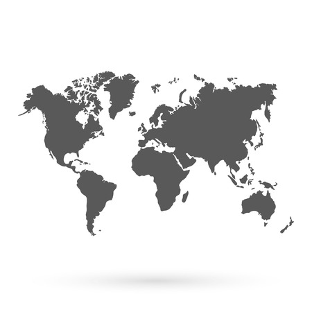 geography: World vector map.Icon. Technology background, geography world vector earth. Illustration