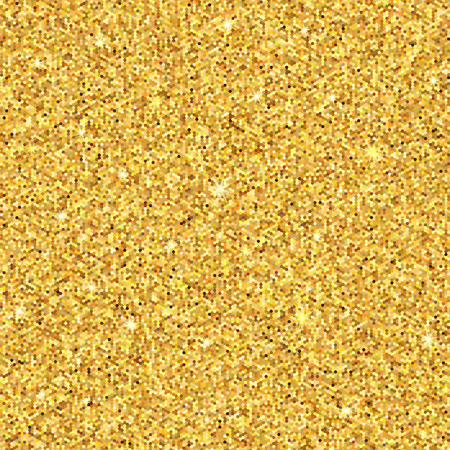 Gold sparkles. Gold glitter background. Gold background for card, vip, exclusive, certificate, gift, luxury. Vector illustration