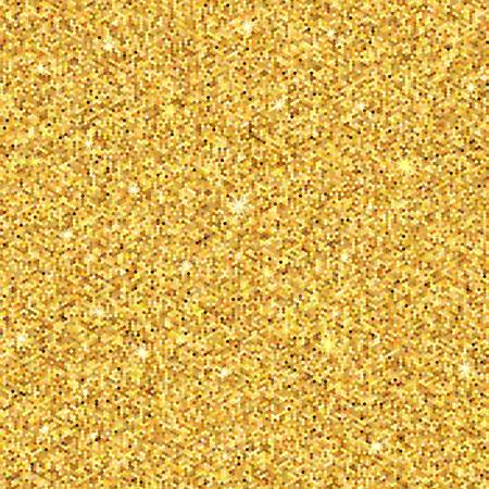Gold funkelt. Gold-Glitter Hintergrund. Gold-Hintergrund für die Karte, vip, exklusiv, Zertifikat, Geschenk, Luxus. Vektor-Illustration Standard-Bild - 56811446