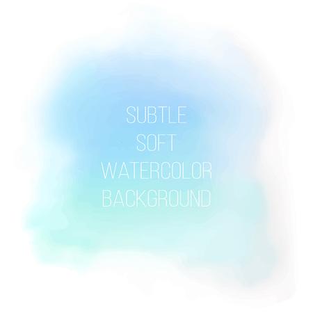 Painted sea blue watercolor background. Watercolor painting. Stock fotó - 80270803