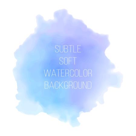Painted blue and violet watercolor background. Watercolor painting. Illusztráció