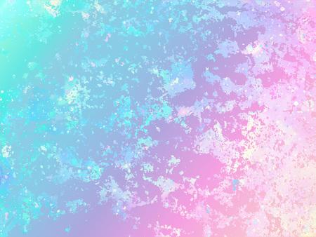 Unicorn background with rainbow mesh. Fantasy gradient backdrop Illustration