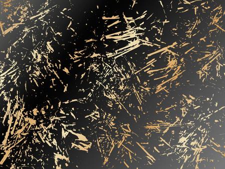 Gold Marbling Texture design for poster, brochure, invitation, cover book, catalog. Vector illustration Vektoros illusztráció