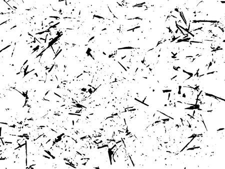 Ink blots Grunge urban background. Texture Vector. Dust overlay distress grain. Black paint splatter , dirty,poster for your design. Hand drawing illustration