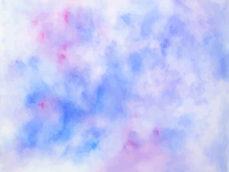 Colorful abstract vector background. Soft  watercolor stain. Wat