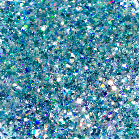Blue sparkles. Blue glitter background. Elegant abstract background brilliant shimmer. Vector illustration