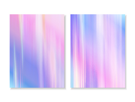 Vector abstract holographic background 80s - 90s, trendy colorful texture in pastel, neon color design. Template design cover, book, printing, gift card.