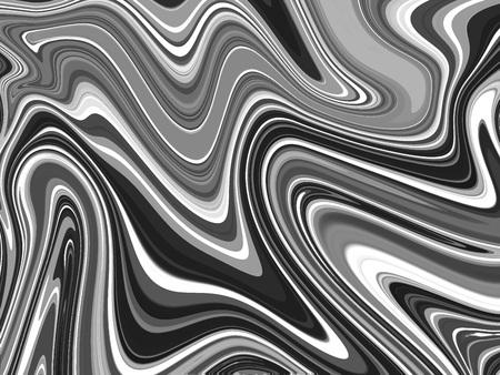 Black and white Marbling Texture design for poster, brochure, invitation, cover book, catalog. Vector illustration