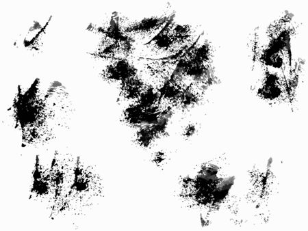 Scratch grunge urban background. Dust overlay distress grain ,simply place illustration over any object to create grunge effect . Hand drawing texture. Vector illustration Zdjęcie Seryjne - 132554126