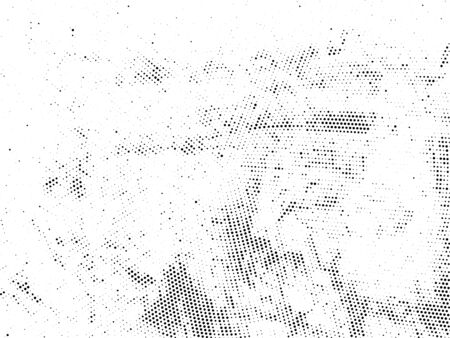 Ink blots Grunge Urban Background. Texture Vector. Dust Overlay Distress Grain. Black paint splattered, poster Ilustracja