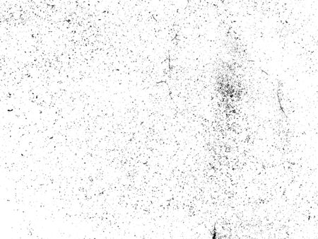 Ink blots Grunge urban background. Texture Vector. Dust overlay distress grain. Black paint splatter, dirty, poster for your design. Hand drawing illustration Illustration