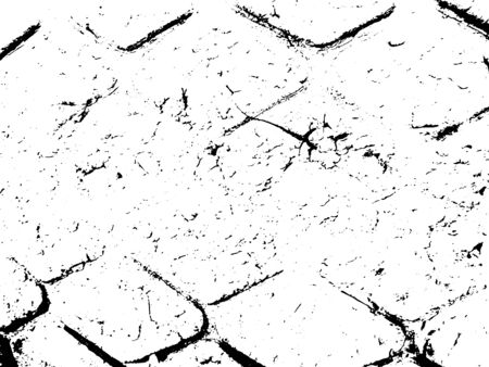 Scratch grunge rusty background for create object grunge effect . Hand drawing texture. Vector