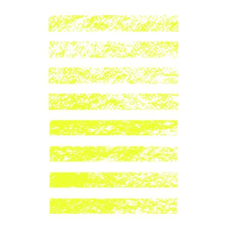 Vector yellow highlighter brush lines. Hand drawing. Painting brush stroke. Vector