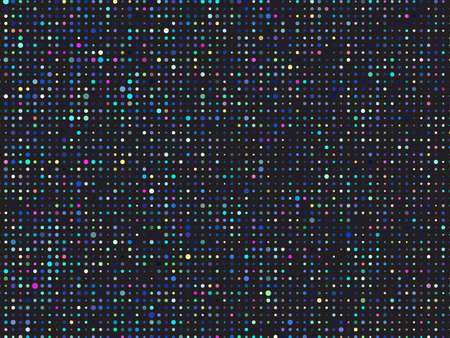 Dark color vector cover with spots. Blurred decorative design in abstract style with bubbles. Vector 矢量图像