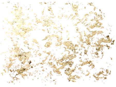 Marble gold grunge texture. Patina scratch golden element for poster, brochure, invitation, cover book, catalog. Vector illustration