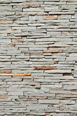 Closeup of brick wall background photo