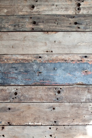 Old grunge wood texture interior photo
