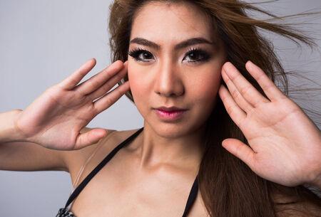 sexy fashion: Young sexy fashion model