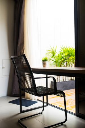 lowboard: Interior of modern living room Stock Photo