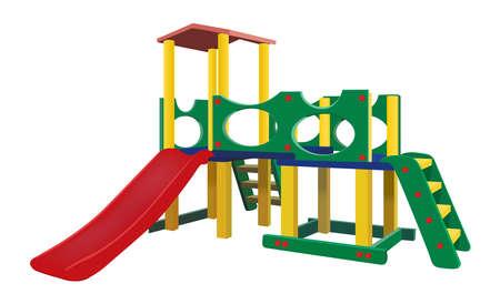 Playground, vector illustration