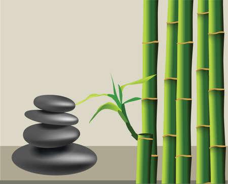 lastone therapy: Zen pebbles balance. Spa and healthcare concept.