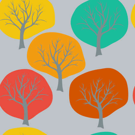 abstract background with trees