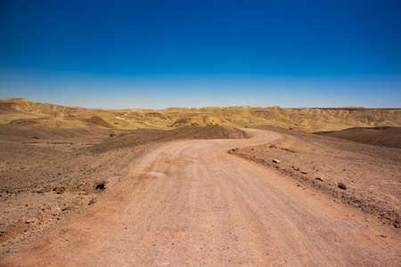 empty drying global warming landscape scenery environment space without people here nature dry Middle East region ground trail ho horizon background 版權商用圖片