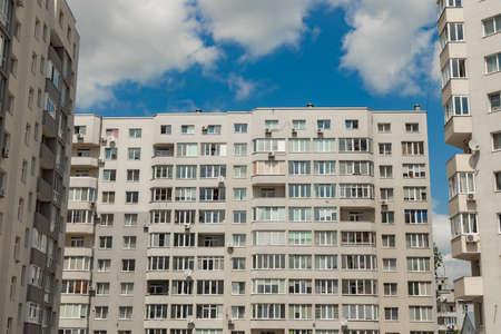 ordinary building living apartment exterior facade architecture frame shape wallpaper landmark background urban view