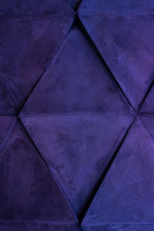 Rhombus and lines - beautiful background in the light of ultraviolet