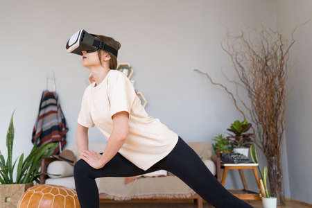Sport in cyberspace. Virtual reality technology for home fitness
