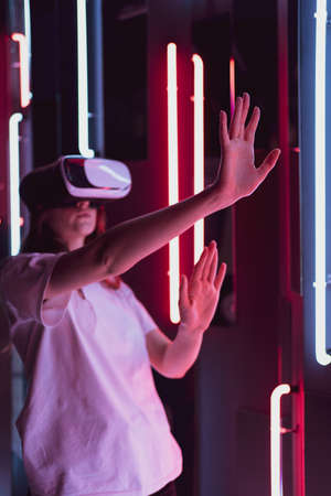 Vertical shoot - an innovative device for virtual reality. New entertainment technologies