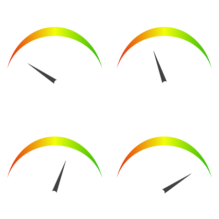 Speed metering icon vector illustration isolated on white background.