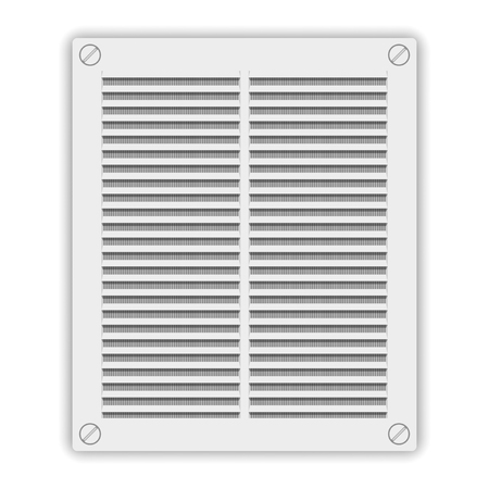 Ventilation grille icon. Vector illustration on white background