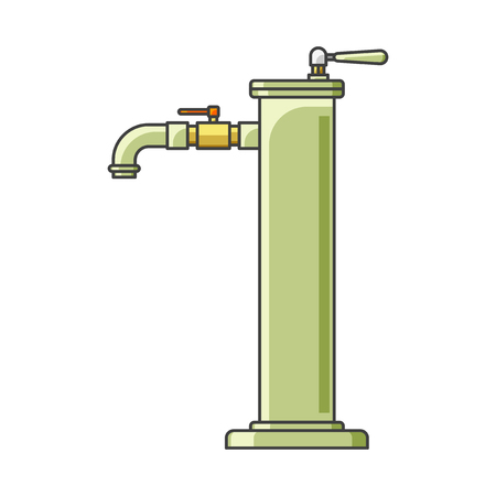 Icon water column. Modern design. Vector illustration on white background