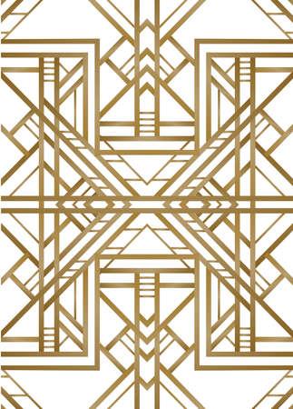 Retro pattern for vintage party Иллюстрация