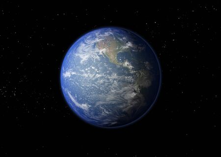 Planet Earth.3D rendering Stock fotó