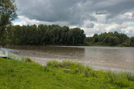 Katun River, Altai Republic, Russia