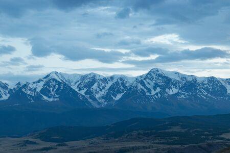 Mountain Landscape in Altai Republic, Russia. Beautiful view