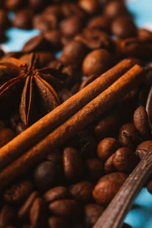 anis: Anis, coffee and  cinnamon