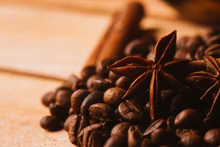 cinammon: Anis, coffee and  cinnamon