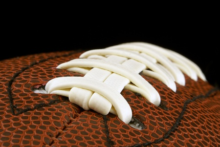 american football background: Close up of american football ball
