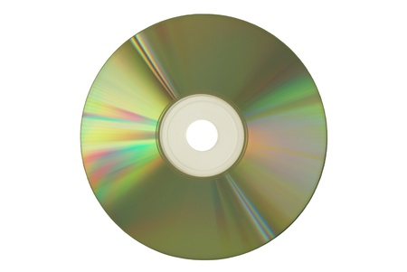rom: Compact Disc on white background