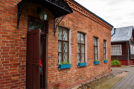 chagall: The Marc Chagall Museum. His parents house in Vitebsk, Belarus. Editorial