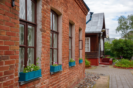 chagall: The Marc Chagall Museum. His parents house in Vitebsk, Belarus. Stock Photo