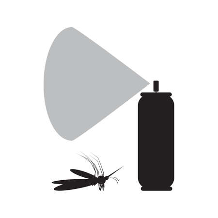 pest control equipment: Mosquito spray icon. Mosquito spray icon pictograph. Mosquito spray icon vector. Illustration