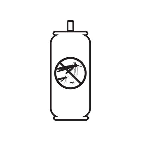 caution chemistry: Mosquito spray icon. Mosquito spray icon pictograph. Mosquito spray icon vector. Illustration