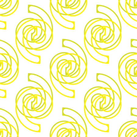 abstract seamless background or pattern with spirals