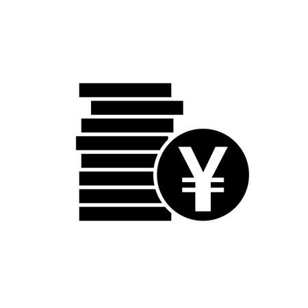 Japanese Yen Or Chinese Yuan Currency Symbol Flat Icon For Apps