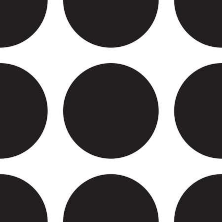 Résumé monochrome motif géométrique, fond transparent. Simple texture récurrente en noir et blanc avec des points, cercle, boule ou d'un point.